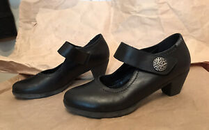 Mephisto  Mary Jane Shoes Black Leather size US 9