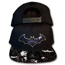 Original Starter Black Label Batman Arkham City Origins Snapback Cap schwarz