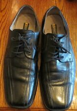 Stacy Adams 23274-01 Mens Genuine Leather Shoes Black Oxfords 13 M