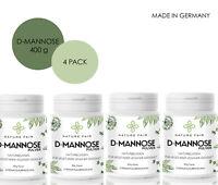 400g D-Mannose ohne ZUSÄTZE 100% REIN Monosaccharid Vegan ohne Magnesiumstearat
