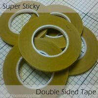 6mm Super Sticky Double Sided Tape 50m The Professional Curtain Maker's Secret