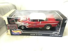 CHEVY '57'RED/FLAMING ''NEW,SEALED,MINT,CLASSIC OLD SCHOOL ADD 2 COLLECTION