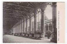 Galleria Interna di fianco Campo Santo Pisa  Italy 1910c postcard