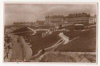 West Hoe Slopes Plymouth Devon 1933 RP Postcard 897b