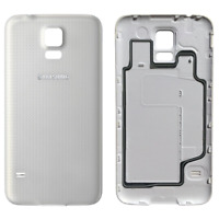 Replacement Back Door Battery Cover for Samsung Galaxy S5 SM-G900 White