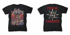 Evil Invaders - Feed Me Violence CAMISETA-XL #111937 - XL
