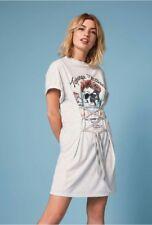MISS SELFRIDGE SKULL CORSET PLACEMENT T SHIRT DRESS BNWT Size 10 RRP £25