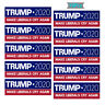 10PCS Donald Trump For President 2020 Bumper Sticker Make Liberals Cry Again