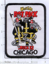 Illinois - Chicago Truck 32 IL Fire Dept Patch - Rat Pack