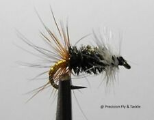 1 Dozen - Renegade  -  Dry Fly - Trout