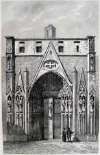 PARIS PORTAL DER KIRCHE EGLISE DU SAINT-SÉPULCRE 1325, LOUIS DE BOURBON