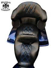 Harley Touring Electra Glide Ultra Seat Cover and Tourpak Replacement skins