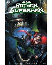 BATMAN SUPERMAN 1 CLAYTON CRAIN VARIANT SET EXCLUSIVE LTD 600 W/ NUMBERED COA
