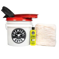 Chemical Guys - Car Wash Detailing Bucket Kit (5 Items) ACC_101 Free Shipping