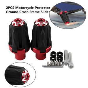 Pair Motorcycle 10MM Screw Frame Engine Anti-falling Protector Crash Slider Cap
