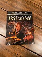 SKYSCRAPER , with Slipcover, 4K ULTRA HD BLU RAY 2 DISC SET
