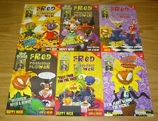 Fred the Possessed Flower #1-6 VF/NM complete series - claymation covers 2 3 4 5