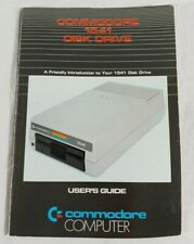 Vintage Commodore Computer 64/128 Book: 1541 Disk Drive User's Guide Manual 1982