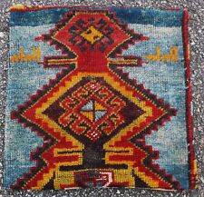 Antique Turkish / Village Rug / Piece, For A Rug Pillow