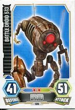 Star Wars Force Attax Series 3 Card #128 Battle Droid 513