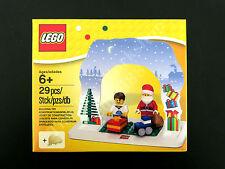 LEGO Christmas Santa Set 850939 X'mas Tabletop Decoration, 2 Minifigures, New