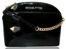 Michael Kors Crossbody Emmy Small/Med Dome Patent or Saffiano Leather Purse Bag