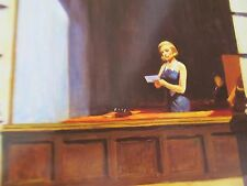 Edward Hopper  Poster New York Office Unsigned 14x11 Offset Lithograph Unsigned