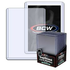 2 PACKS OF 25 (50 TOTAL) BCW 79 PT THICK TOPLOADERS