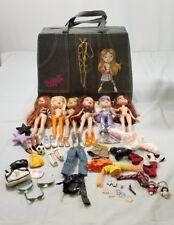 Large BRATZ Doll LOT Bratz Accessories, Bratz Clothes, Feet and Carrying Case