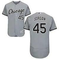 Chicago White Sox #45 Michael Jordan Jersey