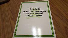 1993 Arctic Cat 440 Zr/580 Zr Service Manual