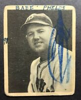 1939 Play Ball #96 Babe Phelps Low Grade