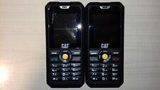 2X CAT B30 cellulare-non testato/Ricambi/riparazioni