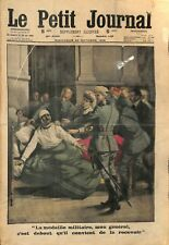 MEDAILLE MILITAIRE POILU GENERAL FRENCH ARMY TROOPS 1915  ILLUSTRATION