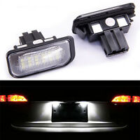 ECLAIRAGE PLAQUE CHRYSLER CROSSFIRE COUPE & CAB FEUX IMMATRICULATION LED BLANC