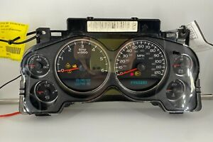 2007 CHEVROLET AVALANCHE USED DASHBOARD INSTRUMENT CLUSTER FOR SALE (MPH)