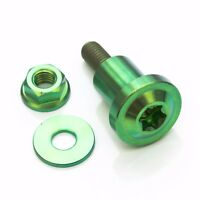 Green Titanium Mounting Screw for Brembo Brake 19RCS Master Cylinder Reservoir