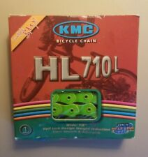 "KMC HL710L Pintle HL1L Half Link Bike Chain 1/2 X 1/8""BMX Single GREEN Freestyle"