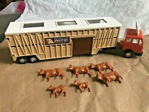1981 MATCHBOX Superfast King SUPER KINGS K-8 ANITRAN Cattle ANIMAL TRANSPORTER