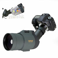 25-75x 1800mm 5500mm Telescope for Canon 70D SL1 T5i X7i 6D T4i X6i 1Dc Cameras