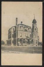 Postcard FRANKLIN Massachusetts/MA  Horace Mann High School Campus Building 1905