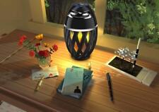 Enceinte sans Fil Bluetooth Portable Lampe LED Flamme Son sous et Supérieure