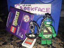 Lego 850648 TMNT Leinardo Teenage Ninja Turtles  Keyring Keychain - NEW & SEALED