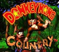 Donkey Kong Country - SNES Super Nintendo Game