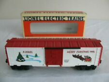Lionel Electric Trains 6-19929 0 Gauge 1994 Christmas Boxcar
