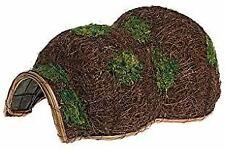 More details for outdoor garden natural woven hedgehog hibernation house hogitat shelter