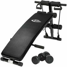 TecTake 401079 129x70x55 Banco de Musculación - Negro
