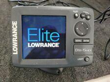 Lowrance Elite 5 Hdi Fishfinder Gps Chartplotter Hybrid Dual Imaging No Reserve