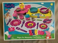 Peppa Pig, Full Cooking Set, 35 Pieces Age 3+, Brand new. unopened.