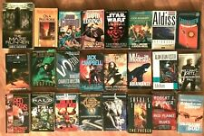 Lot 24 science fiction sci-fi & fantasy novels pb Star Wars +more, many authors